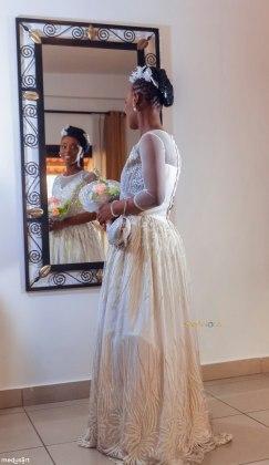 Sarah codjo robe de mariée le club des audacieux